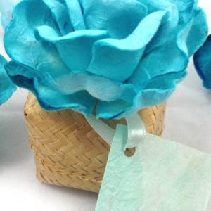 Hand-Made Bamboo Wedding Favour Box