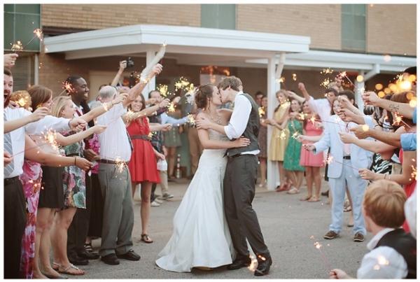 Celebrating wedding in style