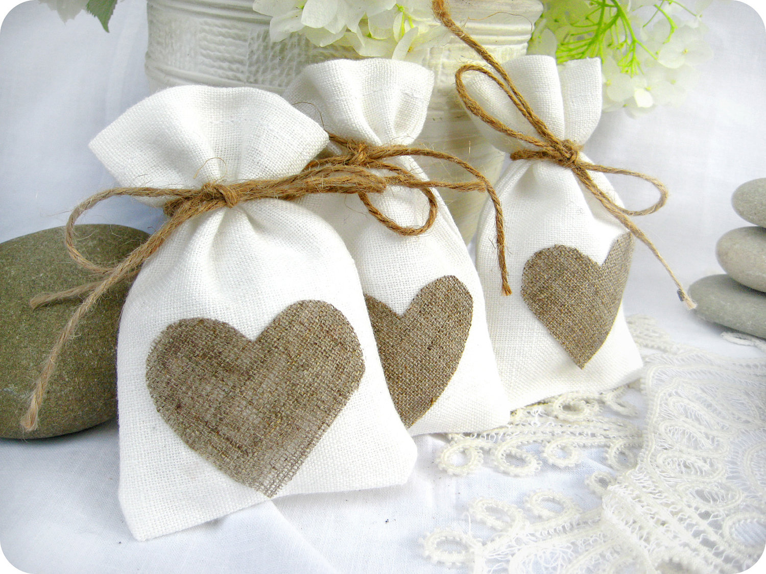 Wedding luxury favour bags