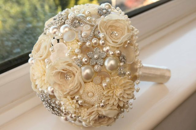Brooch Bouquet Resin