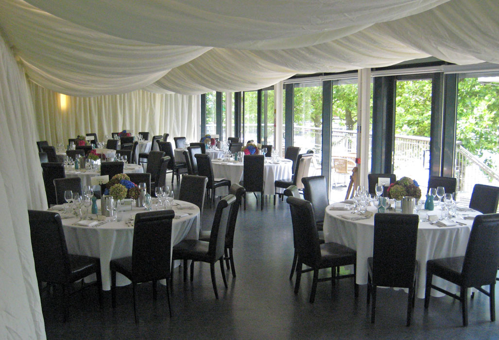 Contemporary wedding venue