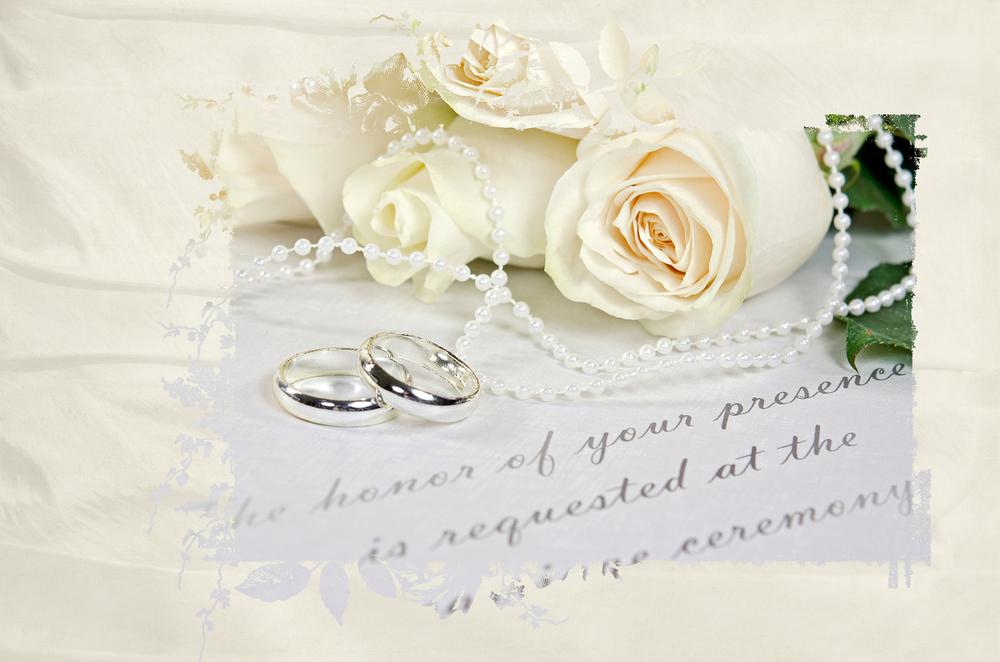silk invitations